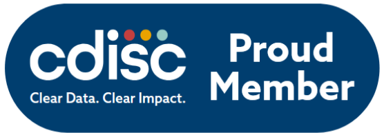 XML4Pharma is proud to be a CDISC member!
